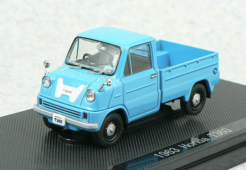 Ebbro 43653 HONDA T360 TRUCK 1963 Blue 1/43 Scale