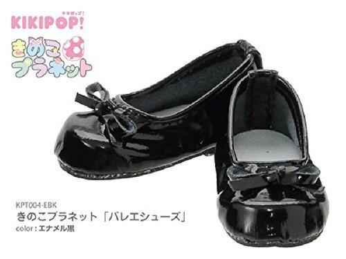 "Azone KPT004-EBK Mushroom Planet ""Ballet Shoes"" Enamel Black"