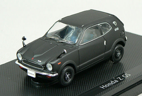 Ebbro 43660 HONDA Z 360 1970 Black 1/43 Scale