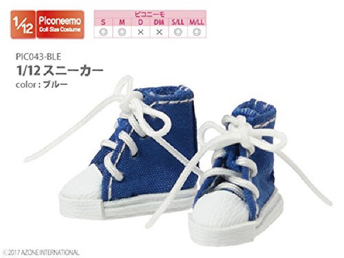 Azone PIC043-BLE 1/12 Sneaker Blue