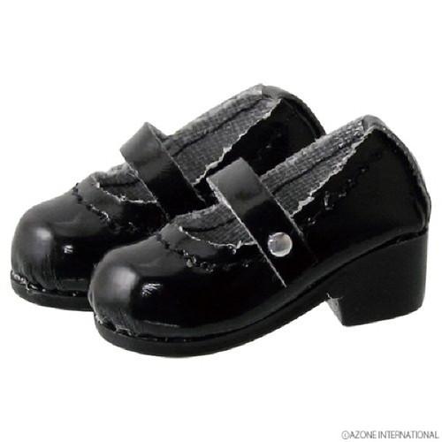 Azone PIC056-GBK 1/12 Pico D Strap Shoes Gross Black
