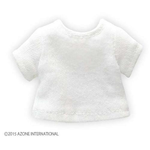 Azone PIC092-WHT 1/12 Basic T-shirt White