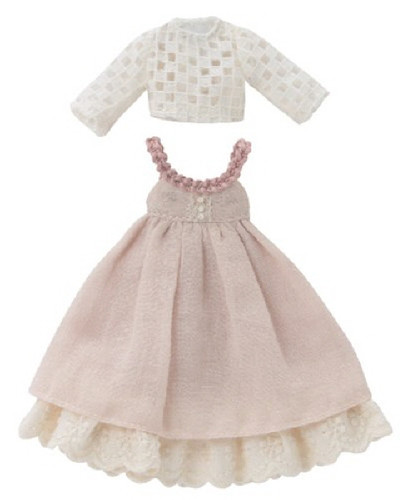 Azone PIC140-PNK 1/12 Pico D Lace Cut & Natural Junska Set Pink