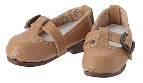 Azone PIC142-BEG 1/12 Pico D T Strap Shoes Beige