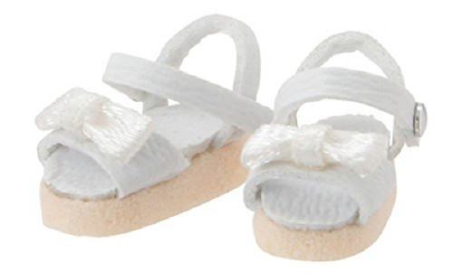 Azone PIC146-WHT 1/12 Ribbon Strap Sandal White