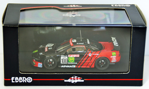 Ebbro 43674 Advan Bp Nsx Jgtc 1996 (Black) 1/43 Scale
