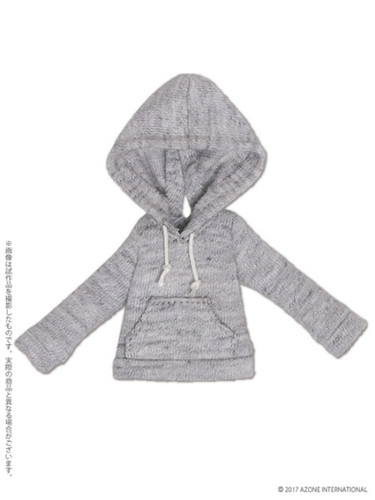 Azone PIC177-GRY 1/12 Pullover Parka (Hoodie) Gray