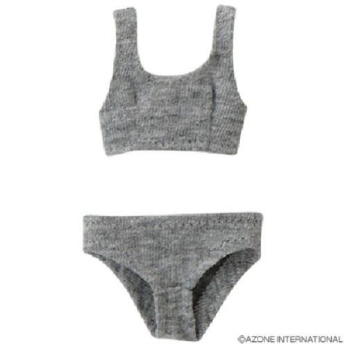 Azone POC242-GRY PNS Sports Bra & Shorts Set Gray