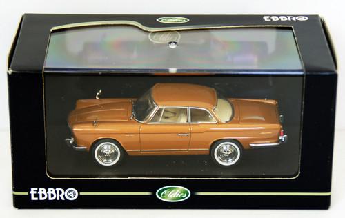 Ebbro 43706 PRINCE SKYLINE SPORT COUPE 1962 Gold 1/43 Scale