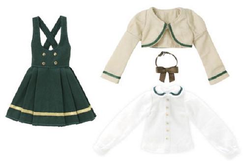 Azone POC433-GRN PNS Bolero Uniform Uniform Green