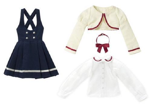 Azone POC433-NVY PNS Bolero Uniform Clothes Set Navy