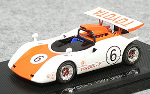 Ebbro 43711 Toyota 7 Japan Kangnam 1969 No.6 (Orange) 1/43 Scale