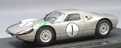 Ebbro 43725 Porsche 904 Carrera GTS Japan GP 1964 (Silver) 1/43 Scale