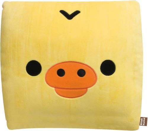 San-x Plush Doll Rilakkuma Super Mochi Mochi Small Pillow Kiiroitori