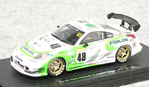 Ebbro 43737 Fields T & C ADVAN Z Super Taikyu 2005 (White/Green) 1/43 Scale