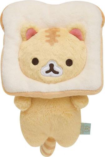 San-x Plush Doll Corocoro Coronya White Bread Coronya