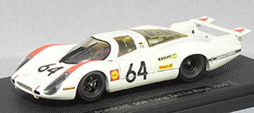 Ebbro 43740 PORSCHE 908 LONG TAIL LE MANS 1969 #64 1/43 Scale