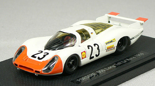 Ebbro 43741 PORSCHE 908 LONG TAIL LE MANS 1969 #23 1/43 Scale
