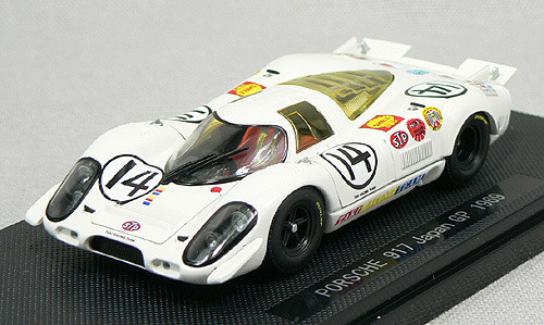 Ebbro 43748 Porsche 917 Short Tail Japan GP 1969 No.14 (White) 1/43 Scale