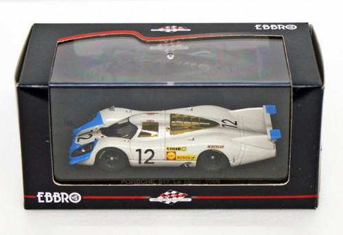 Ebbro 43749 PORSCHE 917 LONG TAIL LE MANS 1969 #12 1/43 Scale