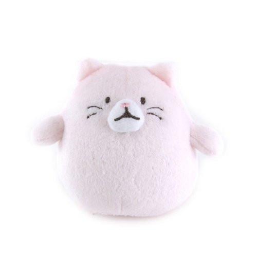 Sunlemon Plush Doll Hug Hug Motchiri Mini Series Cat Pink