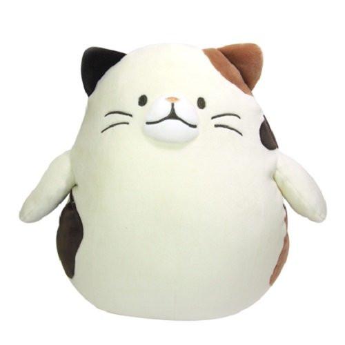 Sunlemon Plush Doll Hug Hug Motchiri Pillow (Cushion) Series Calico Cat