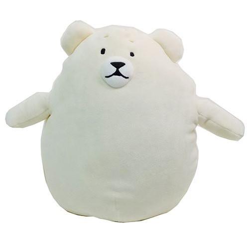 Sunlemon Plush Doll Hug Hug Motchiri Pillow (Cushion) Series Polar Bear