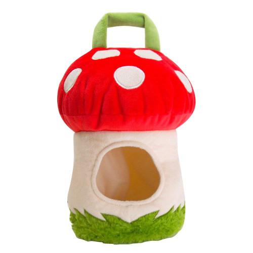 Sunlemon Plush Doll Plush House Bag Mushrooms House