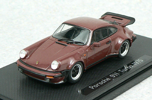 Ebbro 43754 PORSCHE 911 TURBO 1975 Brown 1/43 Scale