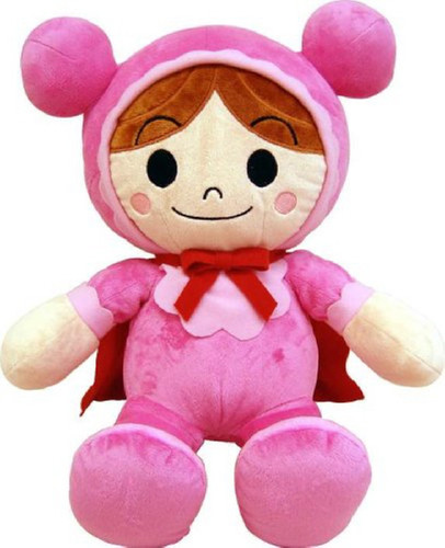 Sega Toys Plush Doll Fuwarin Smile Akachanman Size M