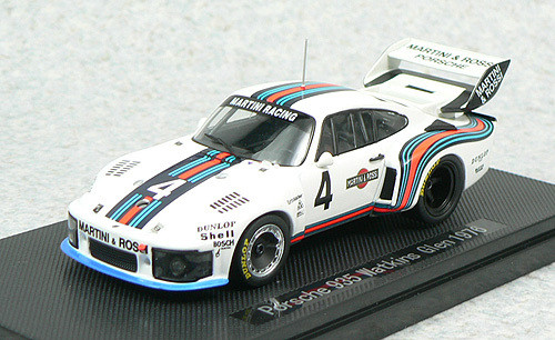 Ebbro 43769 Porsche 935 Watkins Glen 1976 No.4 (White) 1/43 Scale