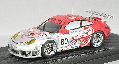 Ebbro 43778 FLYING LIZARD PORSCHE 911 GT3 LE MANS 1/43 Scale