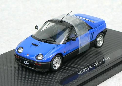 Ebbro 43780 Autozam AZ-1 1992 (Blue) 1/43 Scale