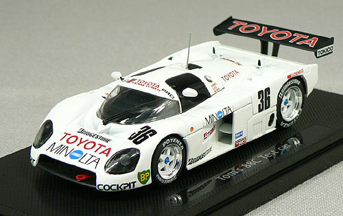 Ebbro 43789 TOYOTA TOM'S 88C TEST CAR LE MANS 1/43 Scale