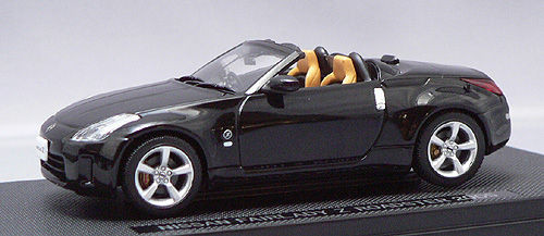 Ebbro 43790 NISSAN FAIRLADY Z Z33 ROADSTER Black 1/43 Scale