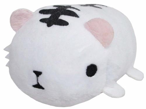 San-ei 299260 Norun Zoku Plush Doll White Tiger