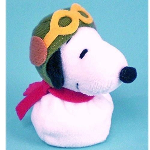 Nakajima Corporation Plush Doll Pote Pote Otedama Snoopy Flying Ace