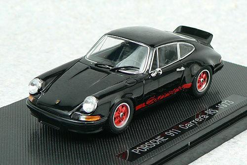 Ebbro 43886 PORSCHE 911 Carrera RS 1973 Black 1/43 Scale