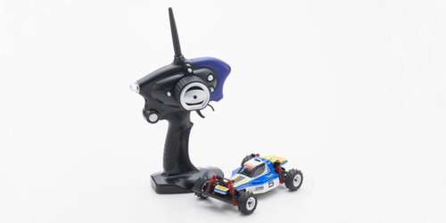 Kyosho Mini Z 32082BW Mini Z Buggy Sports MB-010S OPTIMA Blue /White  (Readyset)