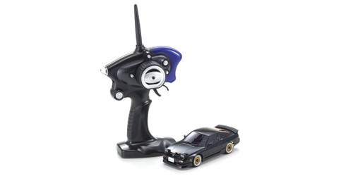 Kyosho Mini Z 32135BK Nissan 180SX Aero with LED Black (MA-020S 2.4GHz Readyset)