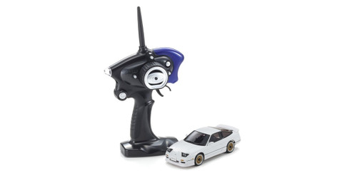 Kyosho Mini Z 32135W Nissan 180SX Aero with LED White (MA-020S 2.4GHz Readyset)