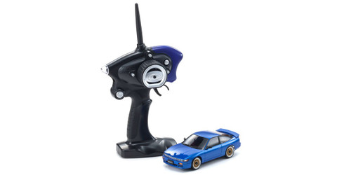 Kyosho Mini Z 32136BL NISSAN SILEIGHTY with LED Blue (MA-020S 2.4GHz Readyset)