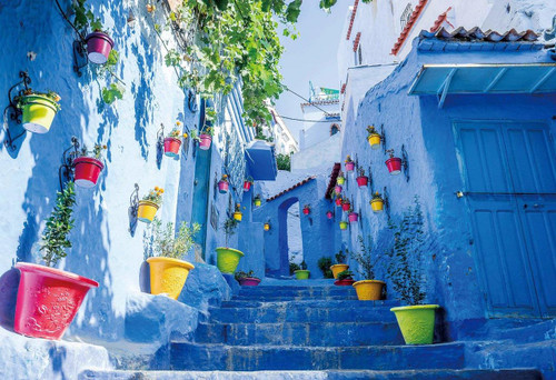 Epoch Jigsaw Puzzle 25-166 Chefchaouen Morocco (300 Pieces)