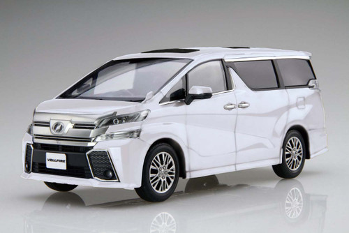 Fujimi 066080 Vellfire ZA G Edition (White Pearl Crystal Shine) 1/24 scale kit