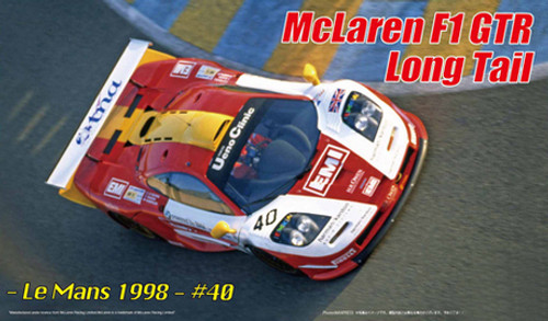 Fujimi RS-250 McLaren F1 GTR Long Tail Le Mans 1998 #40 DX 1/24 scale kit
