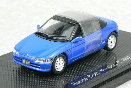 Ebbro 43928 HONDA BEAT Version C 1992 Blue 1/43 Scale