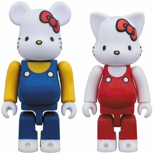 Medicom BE@RBRICK & NY@BRICK Hello Kitty Set of 2 Figure