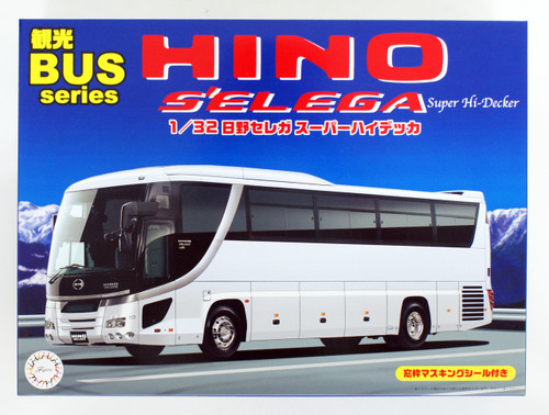 Fujimi 011103 Hino S'elega SUPER HIGH DECKER 1/32 Scale kit