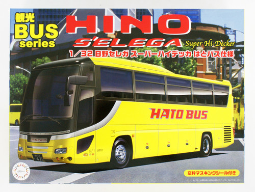 Fujimi 011110 Hino S'elega SUPER HIGH DECKER Hato Bus Version 1/32 Scale kit