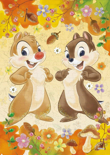 Epoch Jigsaw Puzzle Decoration 72-011 Disney Chip & Dale (108 Pieces)